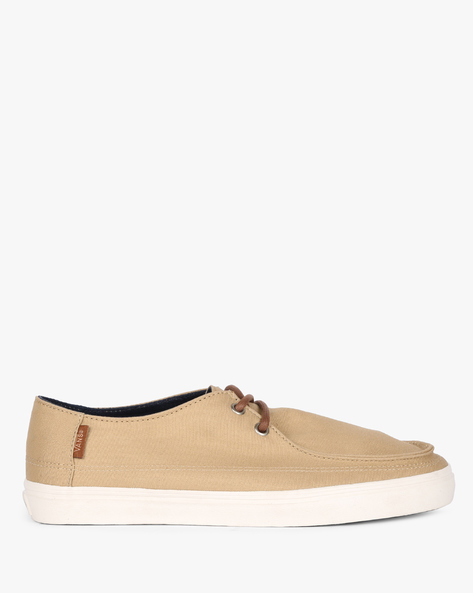 Lace-Up Casual Shoes By Vans ( Brown )