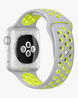 Smartwatch Nike+ Silver Aluminum Case with Flat Silver/Volt Nike Sport Band