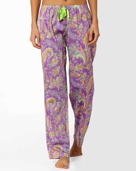 Paisley Print Pyjamas By Heart 2 Heart ( Lavender )