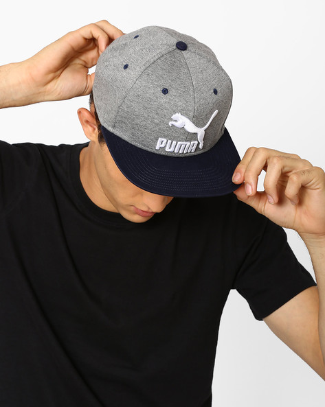 LS Colourblock Snapback Cap By Puma ( Grey )