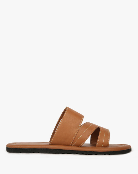 Slip-On Flat Sandals By DEXTER ( Cognac )