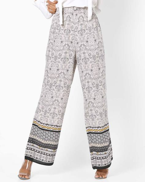 Floral Print Palazzo Pants By Oxolloxo ( Multi )