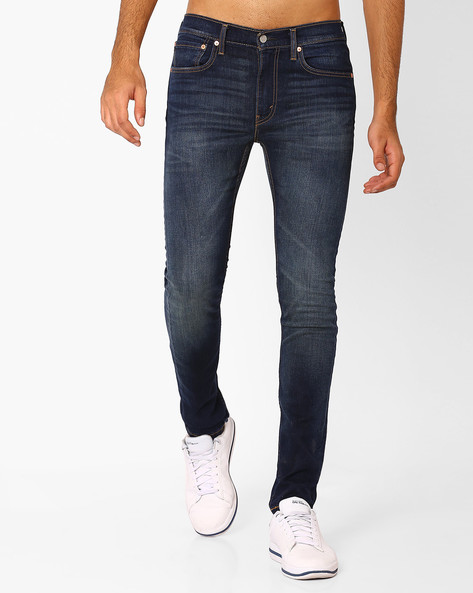 519 Super Slim Jeans By LEVIS ( Blue )