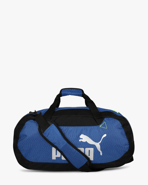 Printed Travel Duffel Bag By Puma ( Blue )