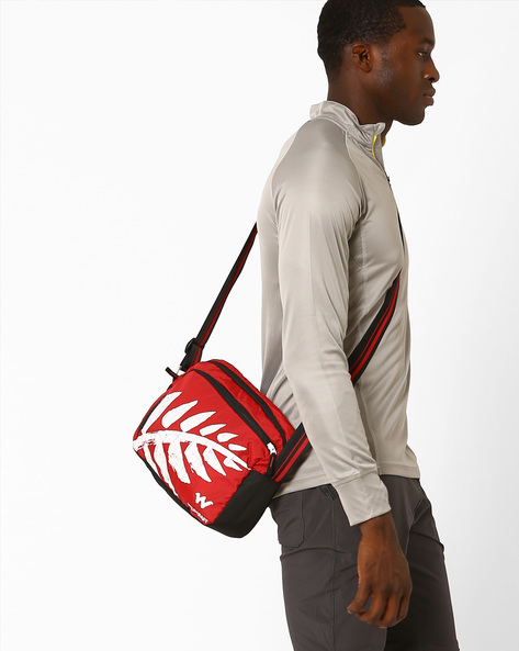 Printed Sling Bag By Wildcraft ( Red )