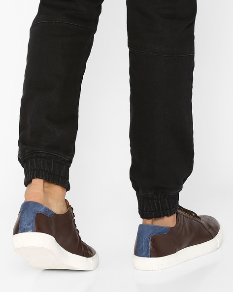 Casual Shoes With Brogue Detail By Knotty Derby ( Brown )