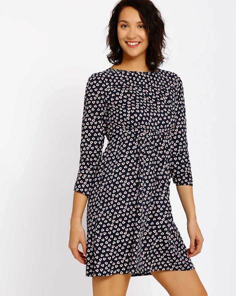 Printed Maternity Dress By Oxolloxo ( Multi )