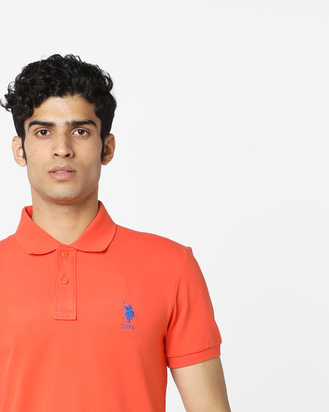 Polo T-shirt With Step Hem By US POLO ( Assorted ) - 440760100003