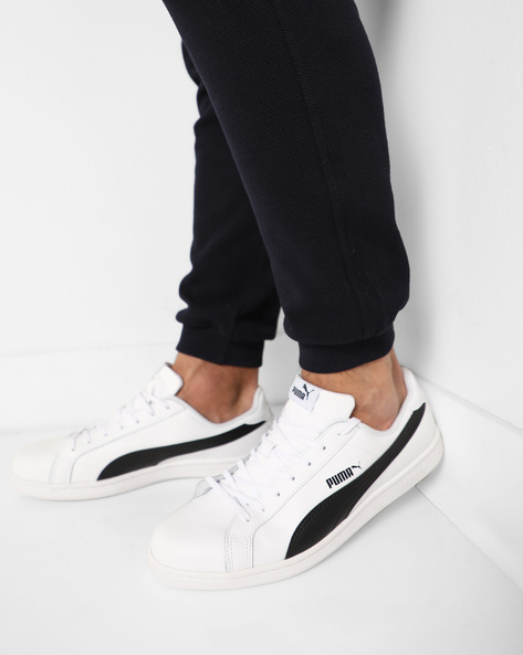 Lace-Up Sneakers By Puma ( White ) - 460168838004