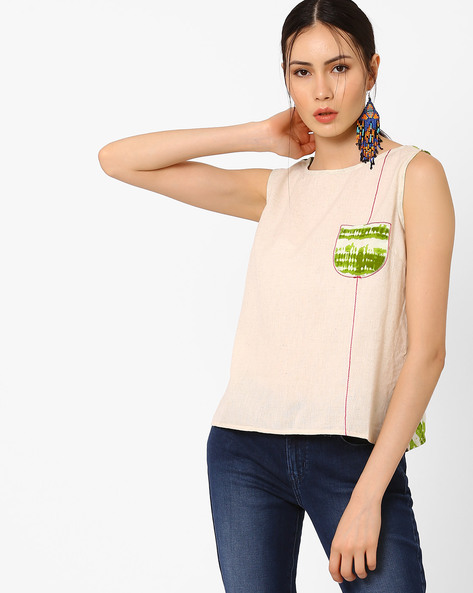 Top with Printed Envelope Back