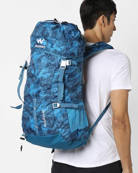 Printed Utility Bag By Wildcraft ( Blue )