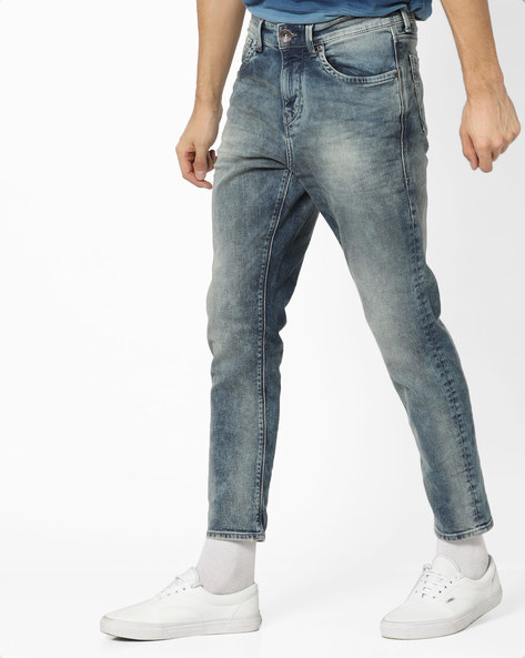 Mid-Rise Jeans With 5-Pocket Styling By FLYING MACHINE ( Assorted ) - 440866128002