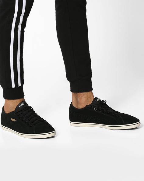 Elsu V2 Perf SD Casual Shoes By Puma ( Black )