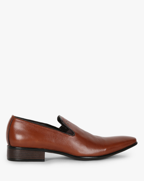 Slip-On Formal Shoes By ALBERTO TORRESI ( Brown )