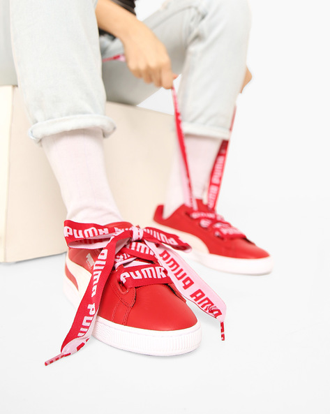 Casual Shoes With Lace-Ups By Puma ( White )