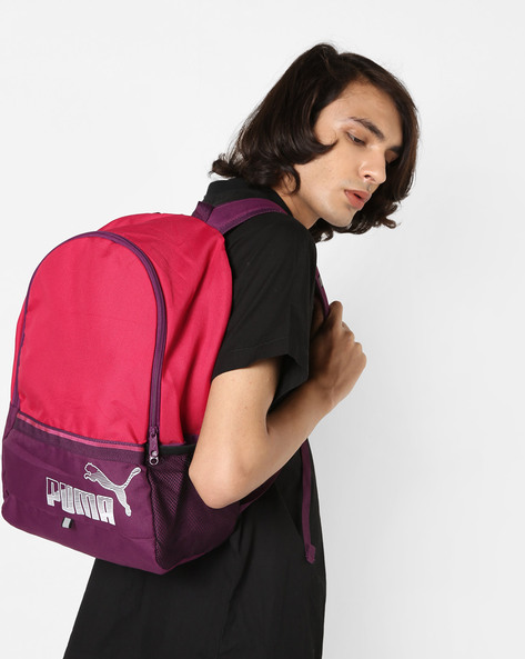 Phase Backpack II By Puma ( Pink )