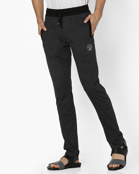 Lounge Pants With Elasticated Waist By Sweet Dreams ( Charcoal )