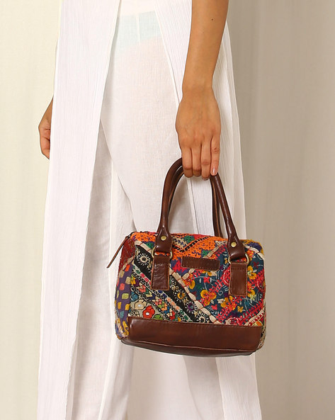 Banjara Emboidery Hand Bag By Twinology ( Multi )