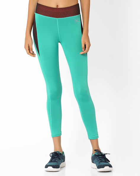 Ankle-Length Leggings By PrettySecrets ( Green )