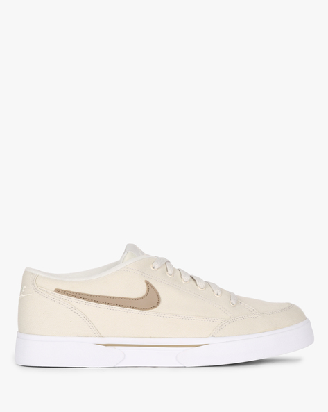 GTS Low-Top Lace-Up Sneakers By NIKE ( Grey )