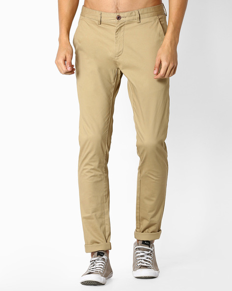 Bedford Cord Chinos By NETPLAY ( Khaki )
