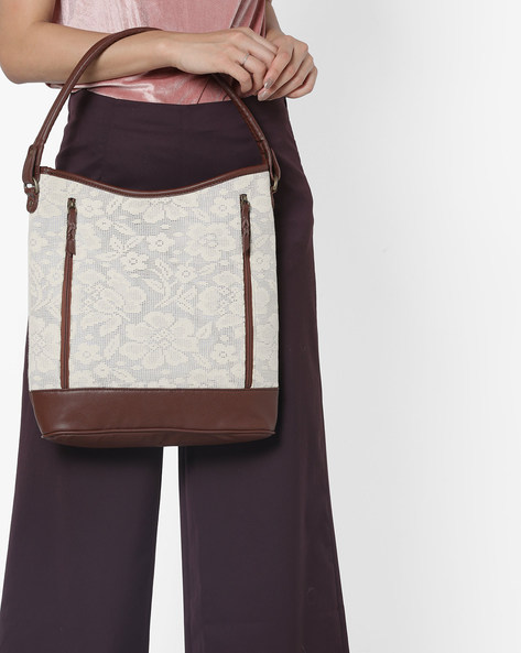 Hobo Bag With Floral Pattern By Project Eve ( Multi )