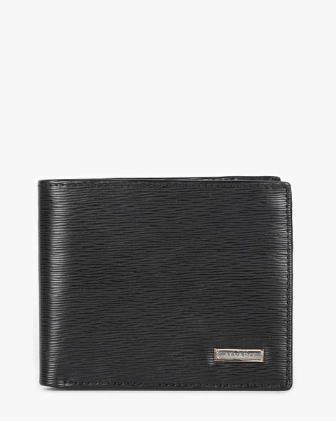 Genuine Leather Bi-fold Wallet By ALVARO CASTAGNINO ( Black ) - 460135675001