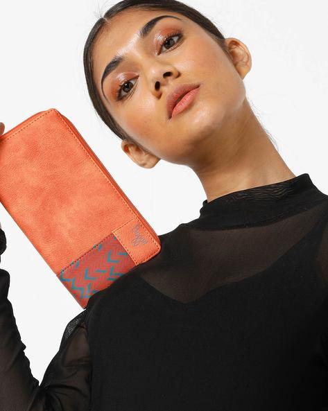 LW Tink YGI Leslie Wallet By BAGGIT ( Orange )