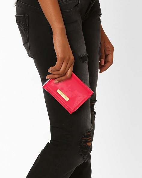 Flap-Over Wallet By Addons ( Pink )
