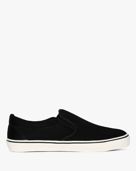 Slip-On Sneakers With Elasticated Gussets By Nuboy ( Black ) - 460087796003