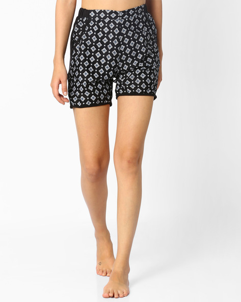 Printed Shorts With Pockets By Sweet Dreams ( Multi )