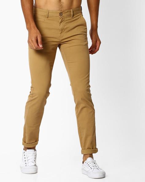 Massimo Chino Trousers By NETPLAY ( Khaki )
