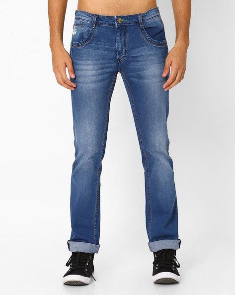 Lucifer Slim Fit Jeans By SIN ( Indigo )