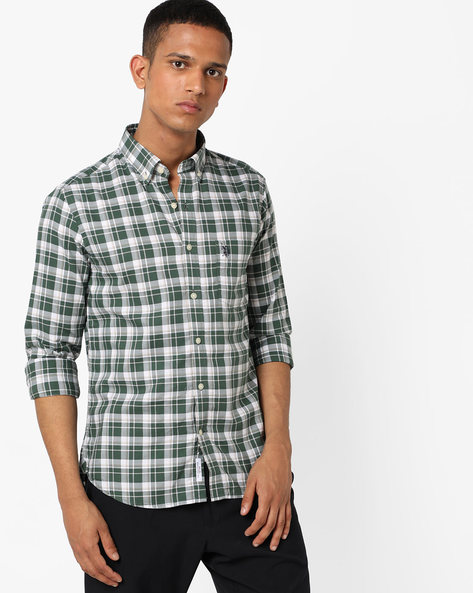 Checked Shirt With Patch Pocket By U.S. Polo Assn. ( Assorted ) - 440759722003