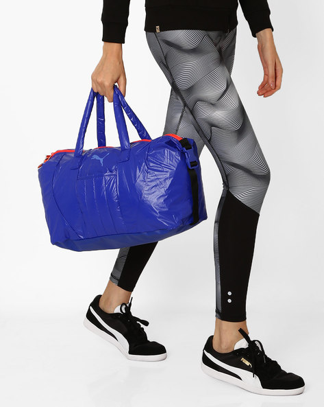 Fit At Workout Barrel Bag By Puma ( Blue )
