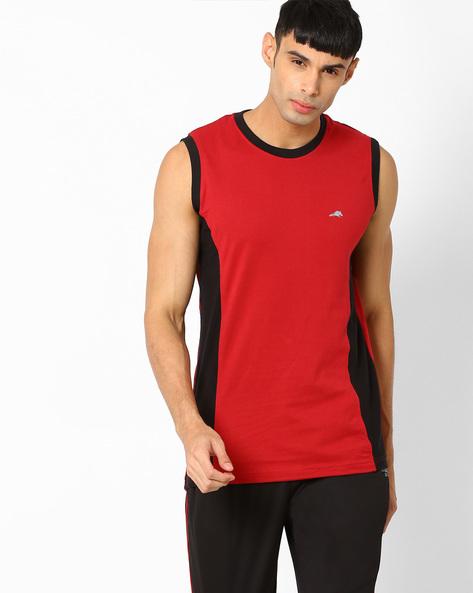 Polycotton Regular Fit Vest By 2Go ( Red )