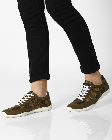 bcfe03d7c1e5 Camouflage Print Low-Top Sneakers By Vans ( Black ) Best Deals With ...