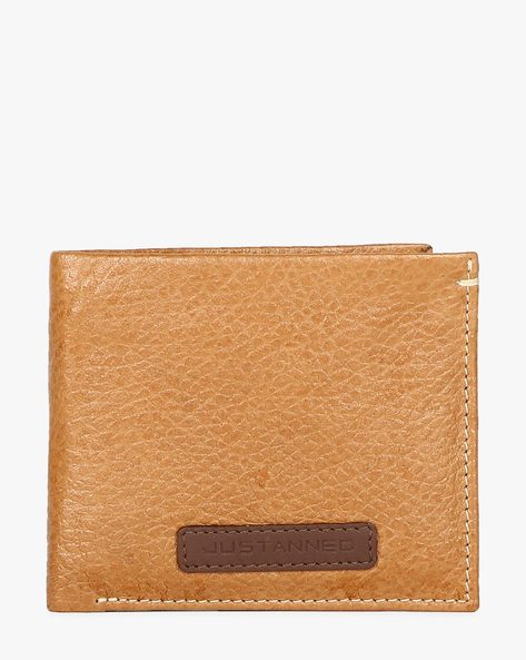 Bi-Fold Genuine Leather Textured Wallet By JUSTANNED ( Lgttan )