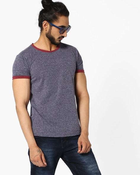 Crew-Neck T-shirt With Slub Effect By ANTIFERRO ( White )