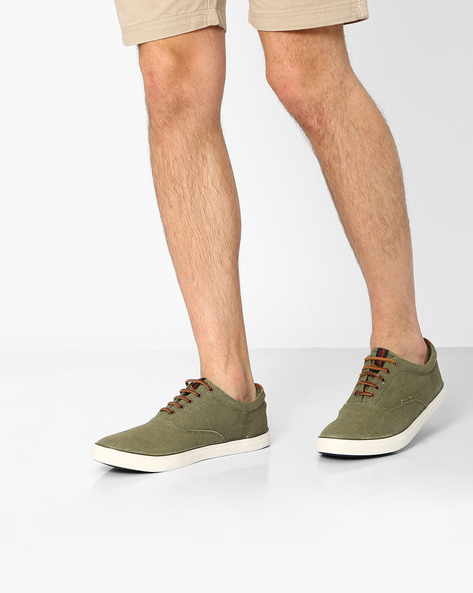 Canvas Lace-Up Shoes By Jack & Jones ( Assorted )