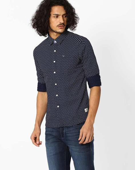 Printed Cotton Shirt By FLYING MACHINE ( Assorted ) - 440720108005