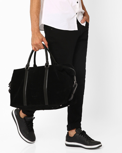 Mr Basher Duffle Bag By Atorse ( Black )