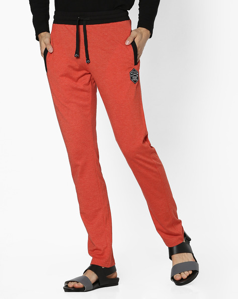 Lounge Pants With Elasticated Waist By Sweet Dreams ( Rust )