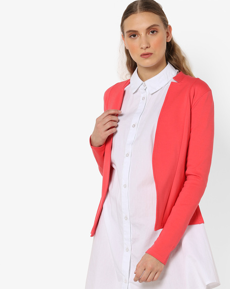 Front-Open Panelled Blazer By And ( Assorted )