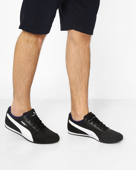 Superior DP Panelled Casual Shoes By Puma ( Black )