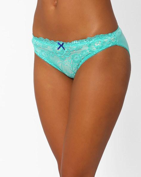 Lace Bikini Panty By PrettySecrets ( Green )