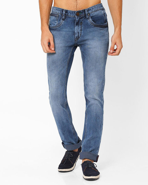 Lucifer Slim Fit Jeans By SIN ( Indigo ) - 460027301005