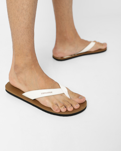 Flip-Flops With Signature Branding By CONVERSE ( Brown )