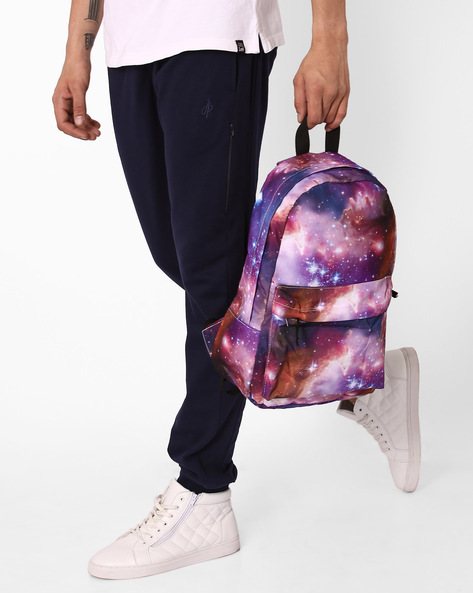 Galaxy Print Backpack By Chasquido ( Multi )