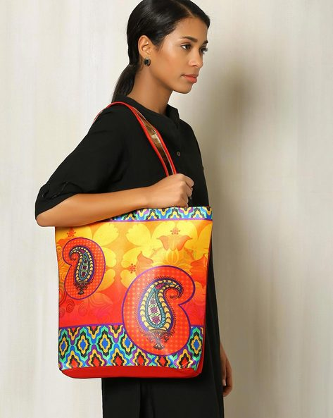 Digital Print Hand Bag By All Things Sundar ( Multi ) - 460040288001